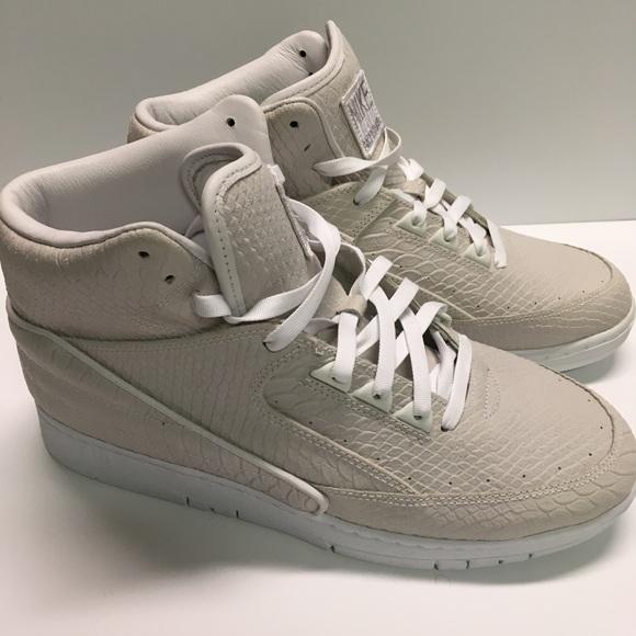 6aaf8544c44b3 Nike Air Python Premium White Metallic Silver sz11